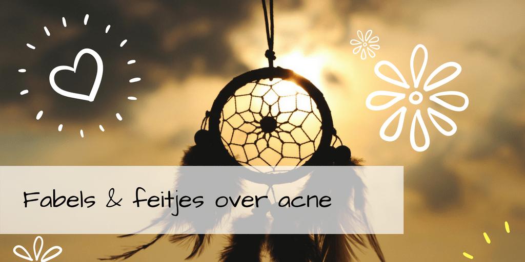 Fabels en feitjes over acne en puistjes