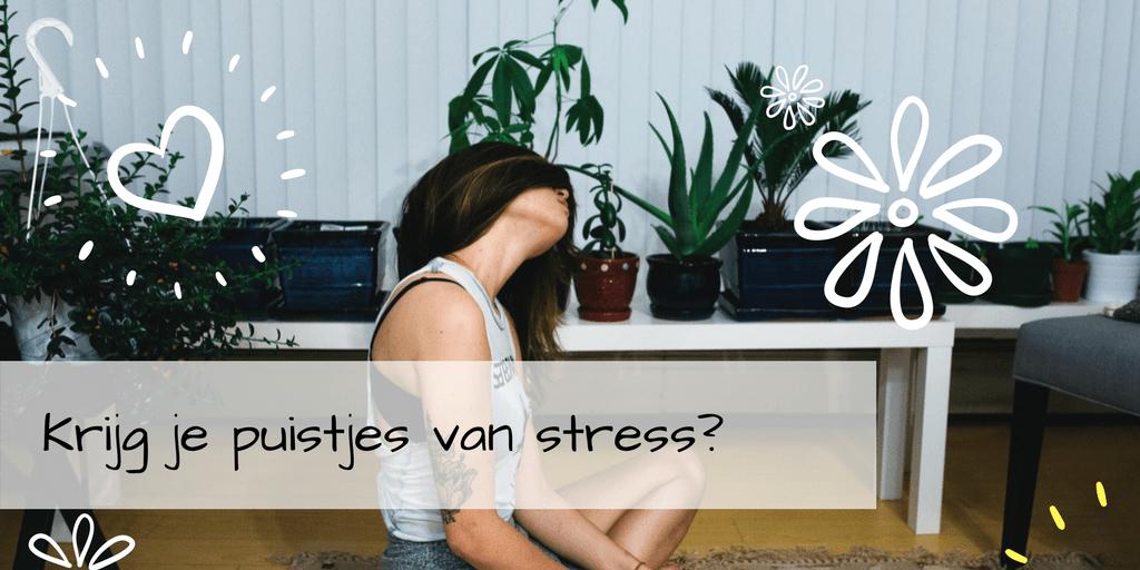 Krijg je puistjes door stress?