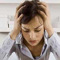 Stress en acne